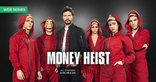 ตัวละครในหนังMoney heist
