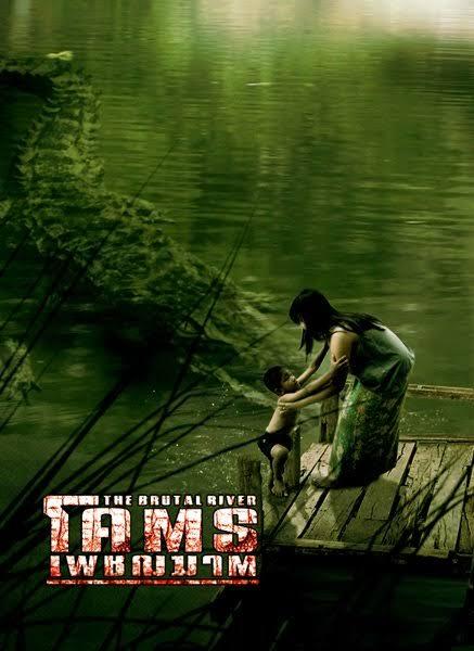 หนังจระเข้ The brutal river