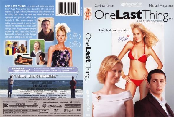 ภาพยนตร์ ONE LAST THING