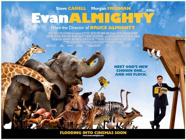 แนะนำ หนังอีแวน ออลไมตี้ วันนี้พี่ขอเป็นพระเจ้า ภาพยนตร์ภาคต่อที่เอาไม่อยู่