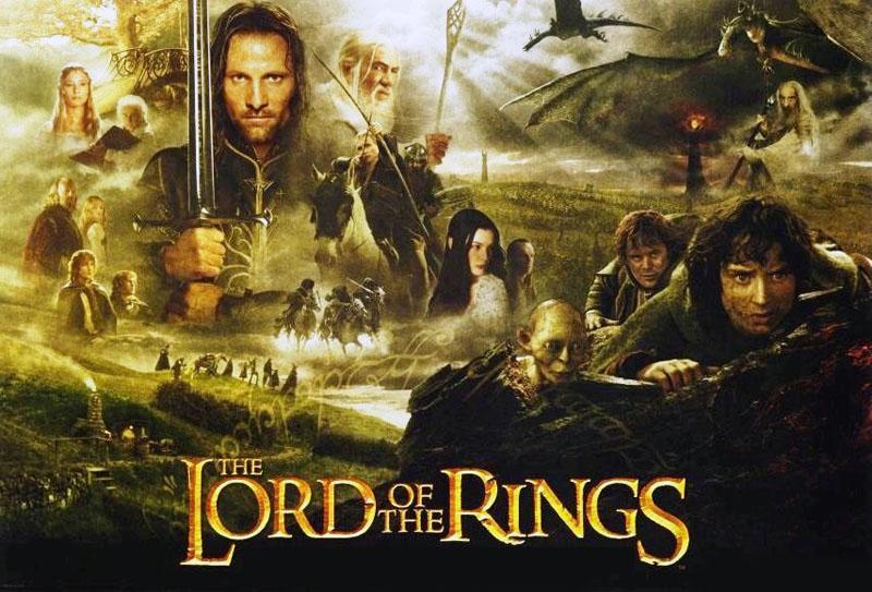 The Lord of The Rings มหาสงครามชิงพิภพ  ภาพยนตร์ติดอันดับสองของโลก ที่กวาดรายได้ โด่งดัง