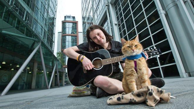 A Street Cat Name BOB ชายหนุ่ท เจมส์ โบเวน