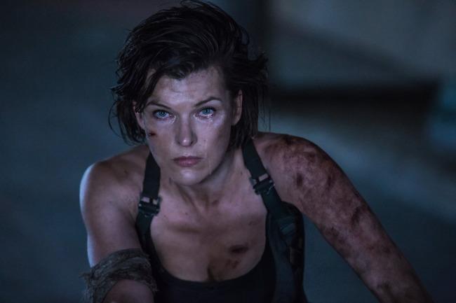 ภาพยนตร์ Resident Evil-มิลา โยโยวิช นางเอกสาวพร้อมร่วมงาน